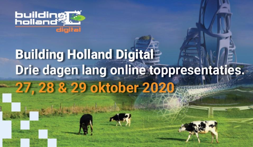 SpeakOut levert vier sprekers voor Building Holland Digital