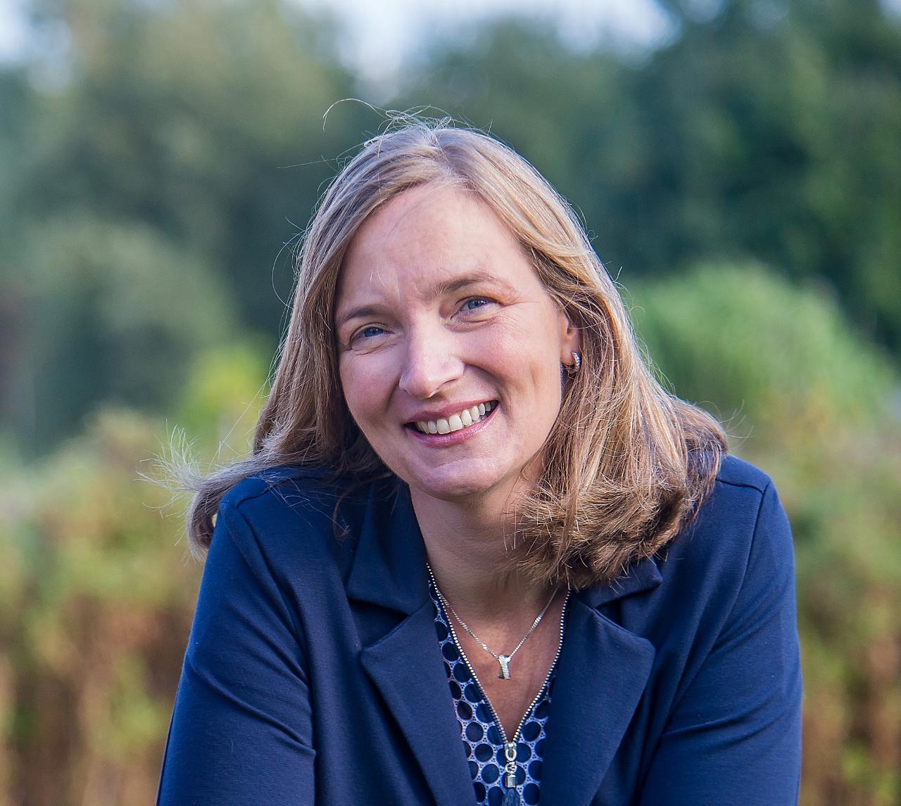 Hilde Feenstra spreekt op Graceland Festival 2019 over duurzaam leven